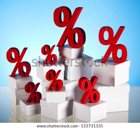 Symbol percent, Concept of discount