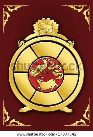 Symbol Series - Samsara Circle With Three Causes Of Death ...