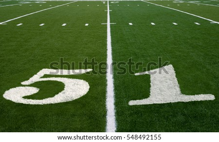 Symbolizing Super Bowl 51 in 2017 #548492155