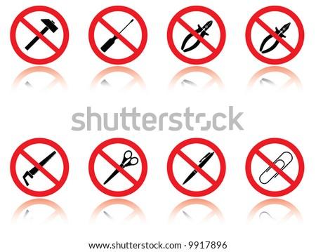 Symbols - jokes. Raster vector illustration.