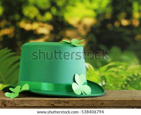 Symbols of of the holiday of St. Patrick