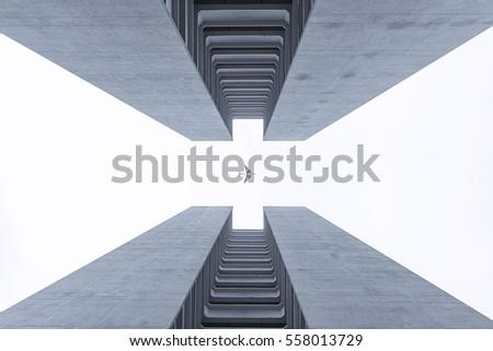 Symmetrical building #558013729