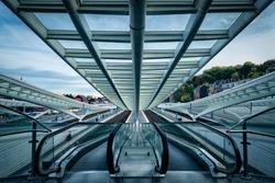 Symmetries at The Guillemins rail station, Liege, Belgium