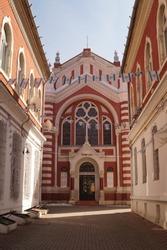 Synagogue in Brasov (Sinagoga Neolog?) 1807, Brasov, Romania