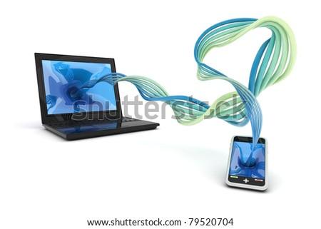 Synchronize information