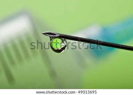 Syringe needle