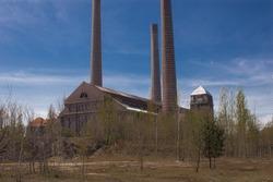 Szombierki Heat and Power Plant (German: Kraftwerk Oberschlesien, Kraftwerk Bobrek,