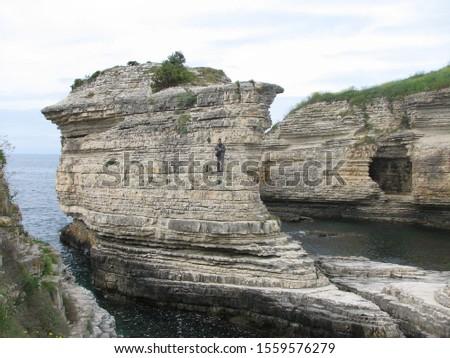 Türkiye Deniz Manzarası, Doğa Harikası Stok fotoğraf ©