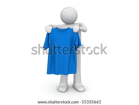 T-shirt in hands - Lifestyle collection