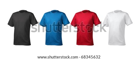 t shirts cotton white background