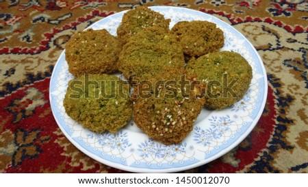 Ta'ameya a traditional  healthy Egyptian food