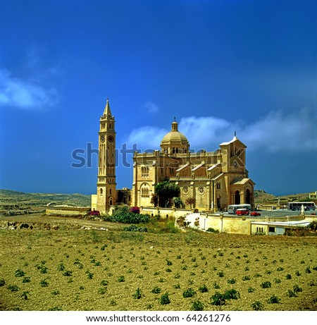 Ta´ Pinu Sanctuary. This is a national shrine and a centre of pilgrimages for both the Gozitans and the Maltese.