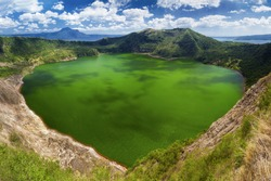 Taal - the smallest in the world volcano, Manila, Philippines