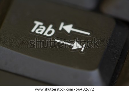Tab button