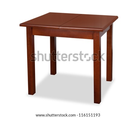 table brown