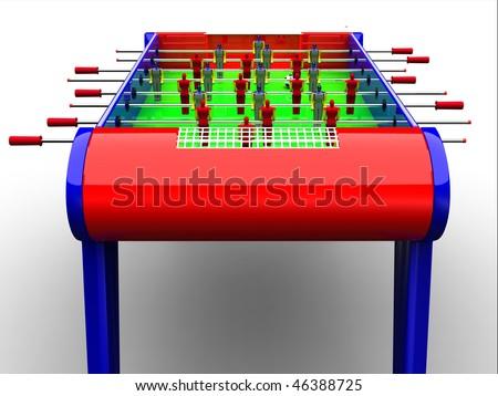 Table football / foosball soccer game