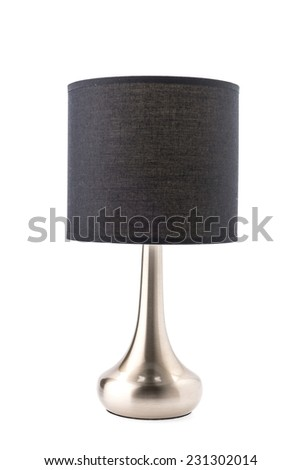 Table lamp isolated on white #231302014