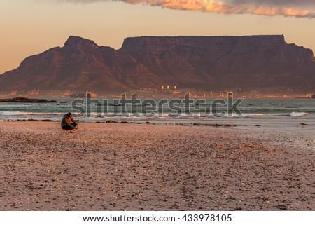 Table mountain beach