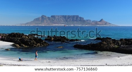 Table Mountain, Cape Town #757136860