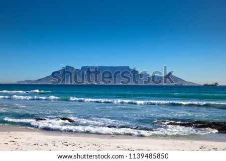 Table Mountain, Cape Town, South Africa #1139485850
