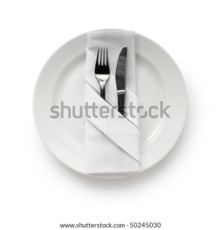 Table Setting,Folded Napkin #50245030