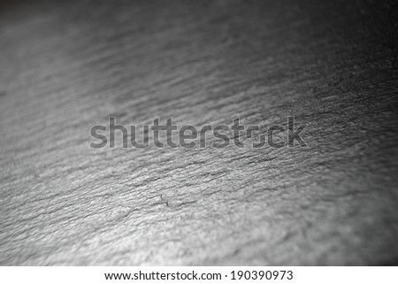 Table slate background close up at high resolution #190390973