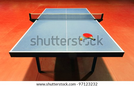 Table - Table tennis - ping pong