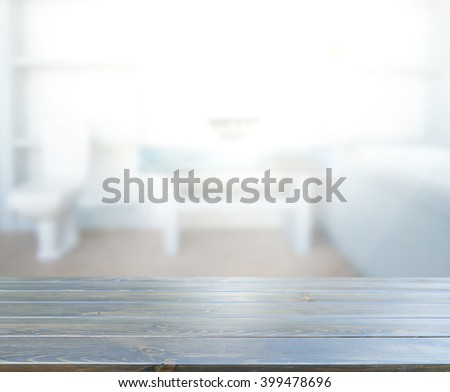 Table Top And Blur Interior of The Background #399478696