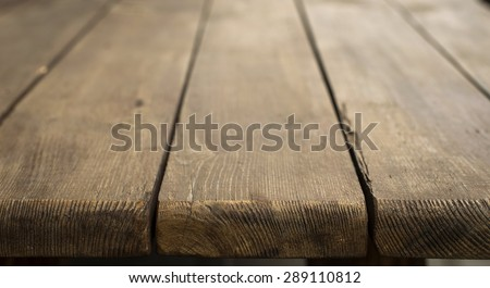 Table top of old boards