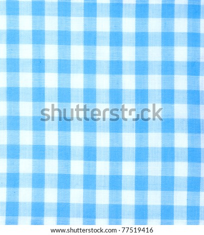 tablecloth square blue color