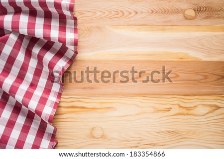 Plaid cloth on picnic table/Picnic table background. Images ...