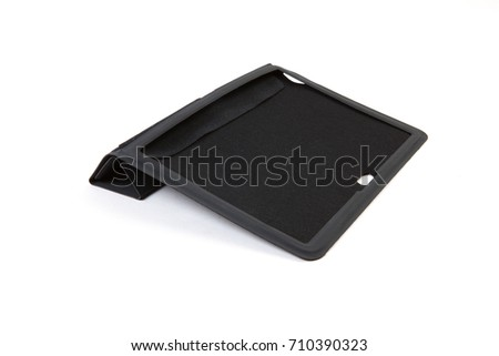 Tablet case isolated on white background #710390323