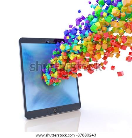 Tablet PC application stream