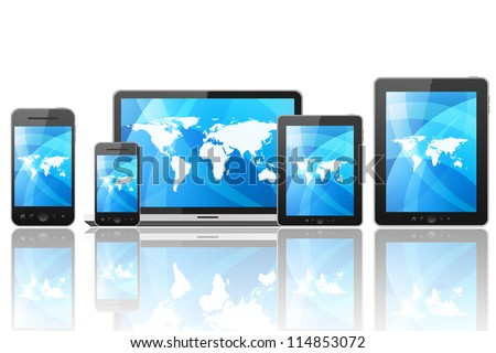 Tablet pc, mobile phone and different digital devices