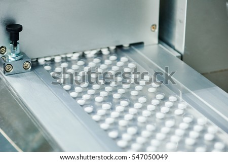 tablet pill production
