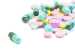 Tablets And capsules isolated