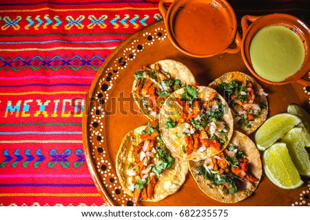 tacos, mexico cuisine, mexican food,  Foto stock ©