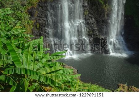 Tad Yuang Waterfall ,Pakse ,South Lao #1229691151