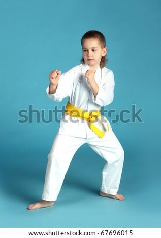 Taekwon-do boy