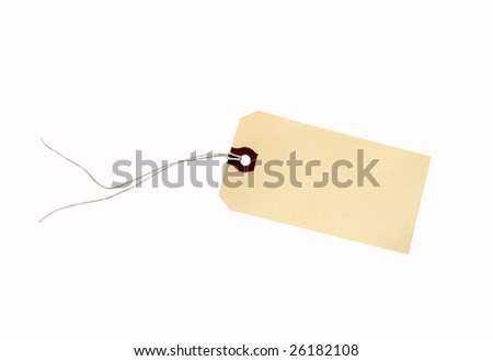tag with string with clipping path