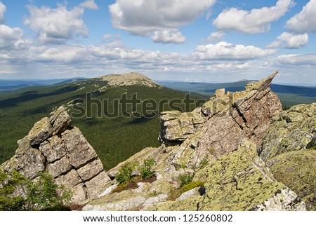 Taganay National Park, southern Urals.
