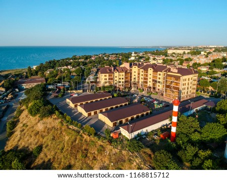 Taganrog Russia cityscapes from drone #1168815712