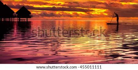 Tahiti Paddlebaord #455011111