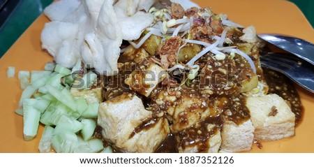 Tahu Tek-Tek Indonesian Traditional Food Stok fotoğraf ©