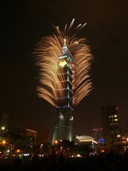 Taipei101 firework
