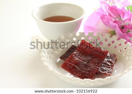 Taiwan food, honey beef jerky