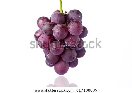 Taiwan fruit, purple grapes