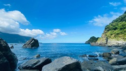Taiwan's invincible beautiful seascape and sky