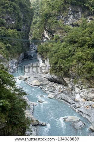 Taiwan Taroko National Park landscape