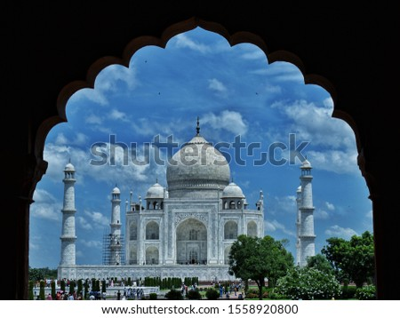 taj mahal, ancient indian building, white marble, blue marble, beautiful building in the world, seven world wonder, world wonder, tomb, symbol of love, emperor shajahan, memory of wife, gift for wife #1558920800